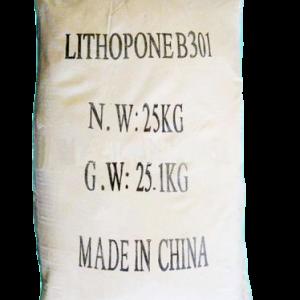 Zinc sulfide ZnS 30%, Trung Quốc, 25kg/bao